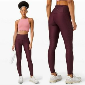 """Lululemon Mapped Out HR Tight 28"""" Camo"""